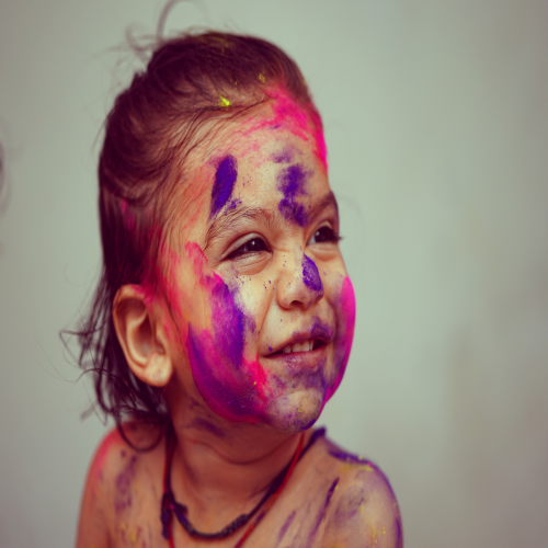 How to protect your child from sensory overload this Holi