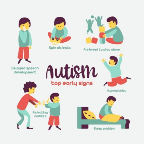 Autism symptoms can change in severity during early childhood